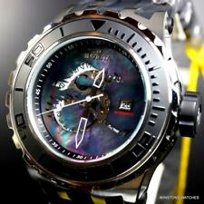 Invicta Specialty Subaqua Black Dragon MOP 52mm Automatic Silver Tone Watch