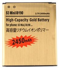 Battery for Samsung Galaxy S3 Mini i8190 Gold Replacement