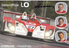 Fredy lienhard top ak ORIG. sign. Motorsport + G 5356