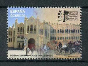 Spain 2017 MNH Plaza de Toros de Albacete 1v Set Tourism Architecture Stamps