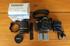 Nikon D90 with additional Tamron Lens