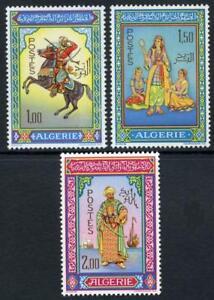 Algeria: 1966 Traditional Costumes (362-364) Mint