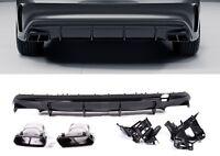 Für Mercedes-Benz CLA 45 AMG Look W117 Heckdiffusor Diffusor Nightpaket Grill #0