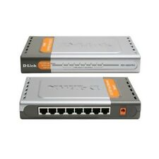 D-Link DES-1008D Fast Ethernet 8 Port Switch+Power Supply Adapter+Ethernet Cable
