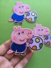 1 pcs Peppa Pig Patch embroidery  SEW/IRON on around 3