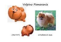 Llavero Piel Colgante Cuero Mujer Perro Volpino Pomerania