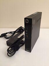 LENOVO ThinkCentre M93 Tiny, Intel i3-4130T, 8GB di RAM, unità disco rigido da 320GB, WIN 8.1 PRO