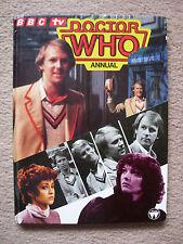 Doctor Who Annual 1983 - VG Condition - Hardback book - Peter Davison