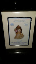 D23 2015 Disney Precious Moments Belle Figurine AND Ornament SIGNED Beauty Beast