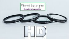 4-PC CLOSE-UP +1+2+4+10 MACRO LENS SET FOR CANON POWERSHOT SX30 IS