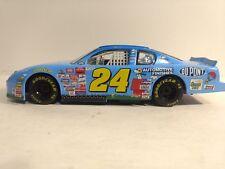 Nascar Jeff Gordon #24 Erdnüsse Chevy in Lite Blau 1:24 Skala-Modelle Hasbro