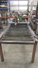 CNC Plasma Cutter With Custom Plasma Control and Software