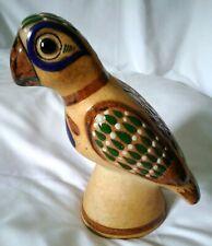 Pappagallo statua marmo 23 cm altezza uccello decorativo uccelli Bird