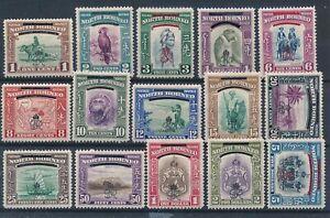 [51223] North Borneo 1947 good set MH Very Fine stamps