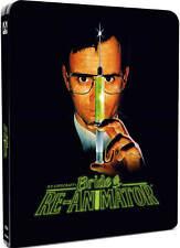 BRIDE OF RE-ANIMATOR Limited Edition STEELBOOK Blu-Ray HP Lovecraft ARROW VIDEO