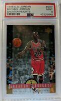 1996 96 Upper Deck Greater Heights Michael Jordan #GH7, PSA 9, Pop 1 only 2 ^