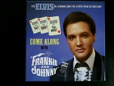 RARE ELVIS PRESLEY 3-CD SET - COME ALONG WITH FRANKIE AND JOHNNY 2015