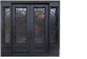Wrought Iron Double Doors Are The Luxury Look Standard