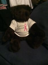 Vermont Teddy Bear I Am A Survivor Breast Cancer