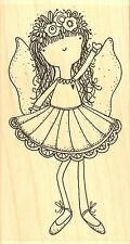 Fairly Sweet Fairy, Wood Mounted Rubber Stamp IMPRESSION OBSESSION - NEW, F19099