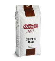 Carraro 1927 Super Bar Gran Crema Espresso Coffee Beans 1kg - TRACKED SERVICE -