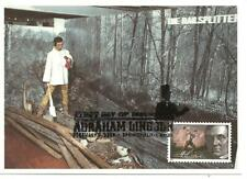 Abraham Lincoln the rail splitter USA President FDC Maximum Card, Scott #4380