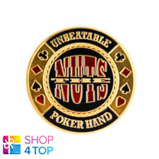 GUARD THE NUTS POKER CARDS COVER PROTECTOR METAL CHIP COIN PAPER WEIGHT NEW