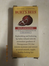 Burt's Bees Replenishing Lip Balm WITH POMERGRANATE OIL, 2-PACK, FREE SHIP-NIP!