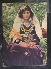 1900s Italy in Albania PPC Picture Postcard Cover to Como Youg Woman