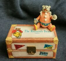 TEDDY B THE ROOSEVELT BEARS Pose-able Little Bear In a Box 1992