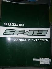 Suzuki SWIFT 1300 SF413 1989/1992... : MANUEL D'ATELIER