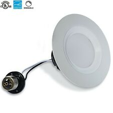 "6 Bioluz LED Dimmable Retrofit 4"" 11W Ceiling Lights Recessed Lighting Fixture"