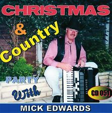 Christmas & Country Party CD 051 Mick Edwards Vocal & Accordion