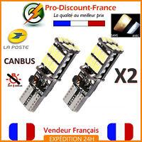 2 x ampoule LED T10 W5W 4014 BLANC XENON CANBUS ANTI ERREUR Veilleuse VOITURE