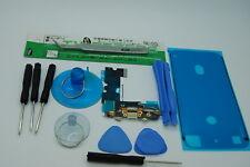 Iphone 7 Blanco Kit de reemplazo de Puerto de carga y resistente al agua sello de cinta