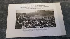 Luzern mit Rigi vom Gütsch gesehen AK Postkarte 7578