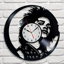 Maxwell design vinyl record clock home wall art shop office playroom collector