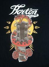Men's Vintage Reverend Horton Heat T-Shirt Psychobilly Snake Guitar Logo XXL 2XL