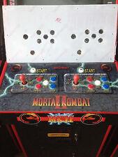 Mortal Kombat Mk1 Mk2 Mk3 Mk4 Umk3 Arcade Lexan Control Panel Pre Drilled
