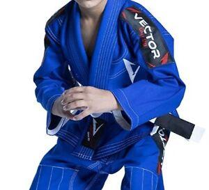 Vector Jiu Jitsu Kimono Top Boys UFC MMA Karate Sport Brazilian Gi Uniform