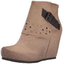 New $169 OTBT Robertson Cuffed Hidden Wedge Boots, sz 6