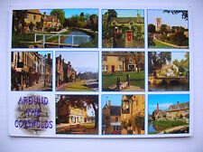 Cotswolds -- Evesham and other villages.