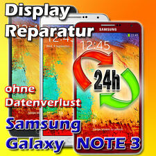 Samsung Galaxy NOTE 3 Touch Display Glasbruch Frontglas Reparatur Vollverklebung