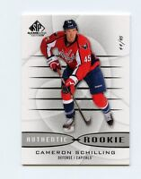 13/14 SP GAME-USED SPGU ROOKIE RC #144 CAMERON SCHILLING 44/45 CAPITALS