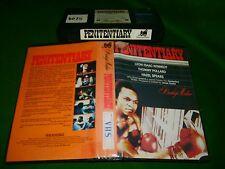 Vhs *PENETENTIARY* 1979 Pre Cert Prestige Video Edition - Blaxploitation Classic