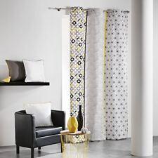 Rideaux et cantonnières 140 cm en 100% coton pour la maison