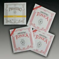 Pirastro Gold E + Tonica A,D und G 4/4 GEIGE Saiten SATZ VIOLIN Strings SET
