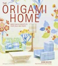 The Origami Home Book By Mark Bolitho-Instructions and Paper-NEW
