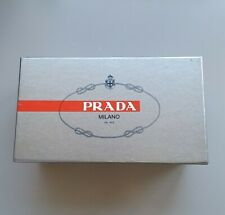 Prada Genuine Silver empty shoe box kids size small