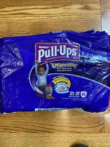 HUGGIES Pull-Ups Night PottyTraining Pants Boys- 21Count 2T-3T,Toy Story, Size 4